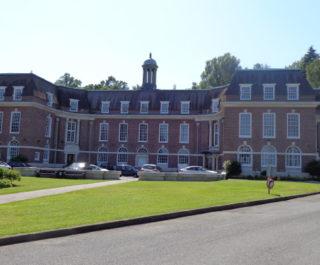 Stranmillis College main campus building