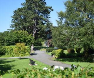 Beautiful Stranmillis College gardens