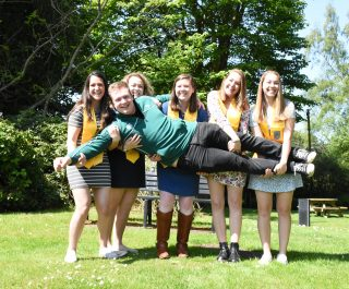 Stranmillis College students