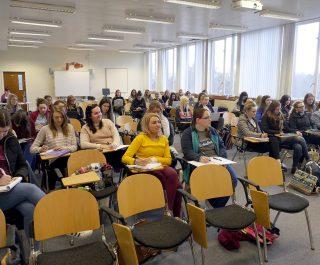 Stranmillis College classroom
