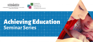Achieving Education Webinar: International Perspectives on Educational Underachievement